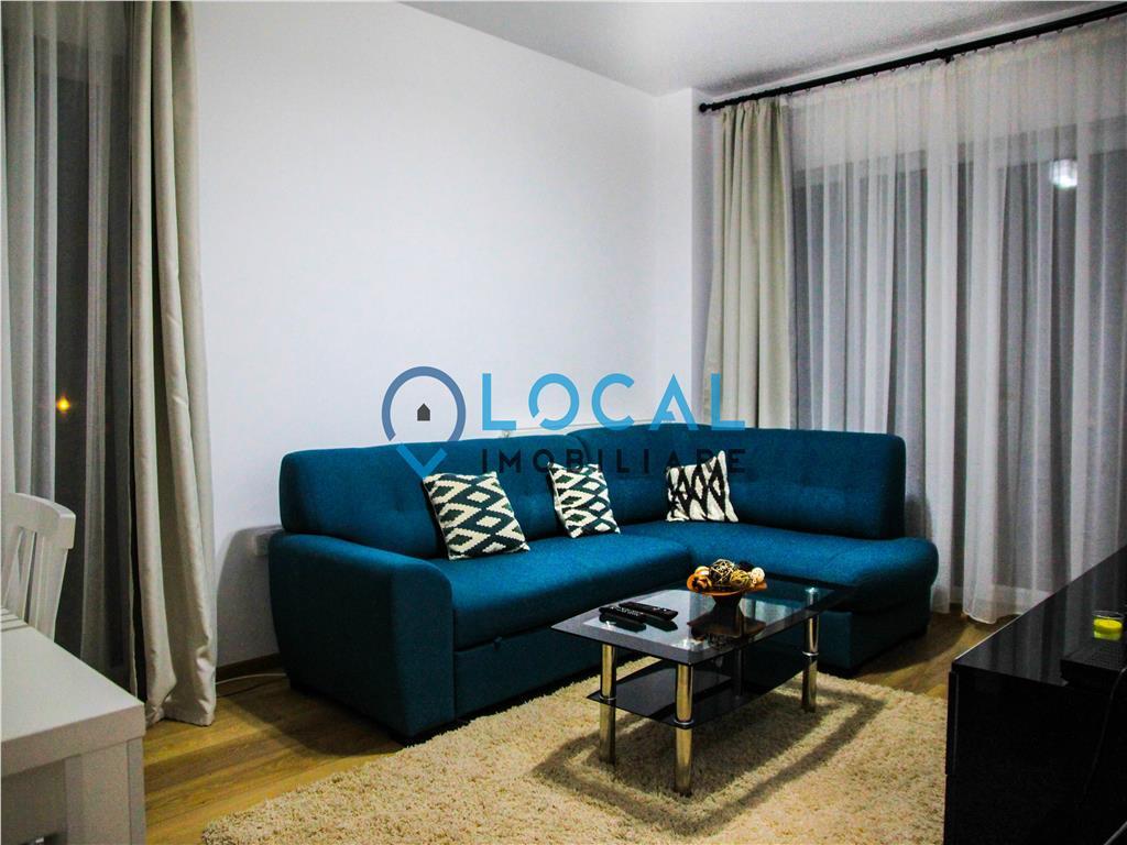 Ap. 2 camere, lux, decomandat, bloc nou, parcare subterana, Buna Ziua